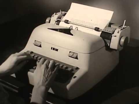 Electronic Typewriter_Bashinski Blog