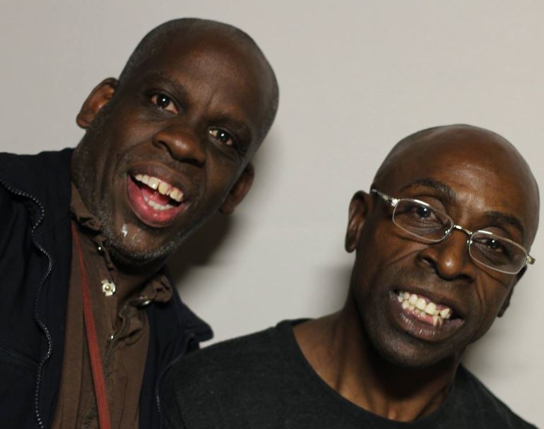 Leroy Moore and Keith Jones