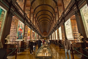 Ireland-Dublin-Trinity-University-Library